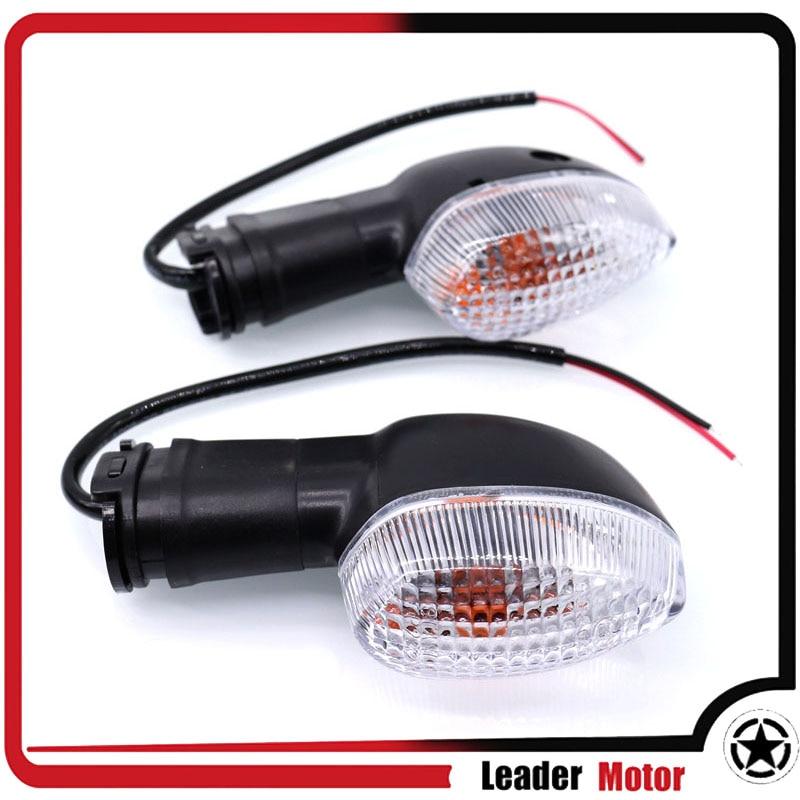 Fit For YAMAHA FZ-6N FZ-6S Fazer FZ-6R FAZER FZ1N FZ8/FAZER TDM 900A TDM900 Blinker Turn Signal Light Indicator Lamp Clear