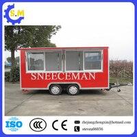 Китайский завод пищевой мобильный грузовик Новое прибытие уличный мобильный фургон для еды трейлер уличная еда быстрого приготовления тел
