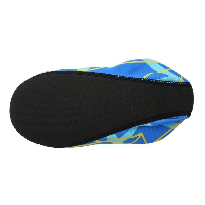 59fafbdf3def 1 Pair Water Shoes Waterproof Beach Aqua Socks Adult KID Breathable Non  slip Water Shoes Swim Diving Beach Exercise Aqua Socks on Aliexpress.com