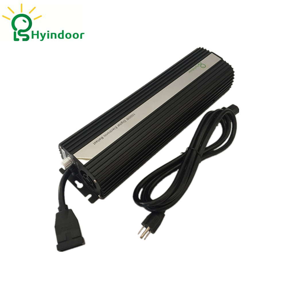 USA PLUG Hydroponic 1000W MH/HPS Electronic Dimmable Ballasts for Indoor Garden Grow Lights