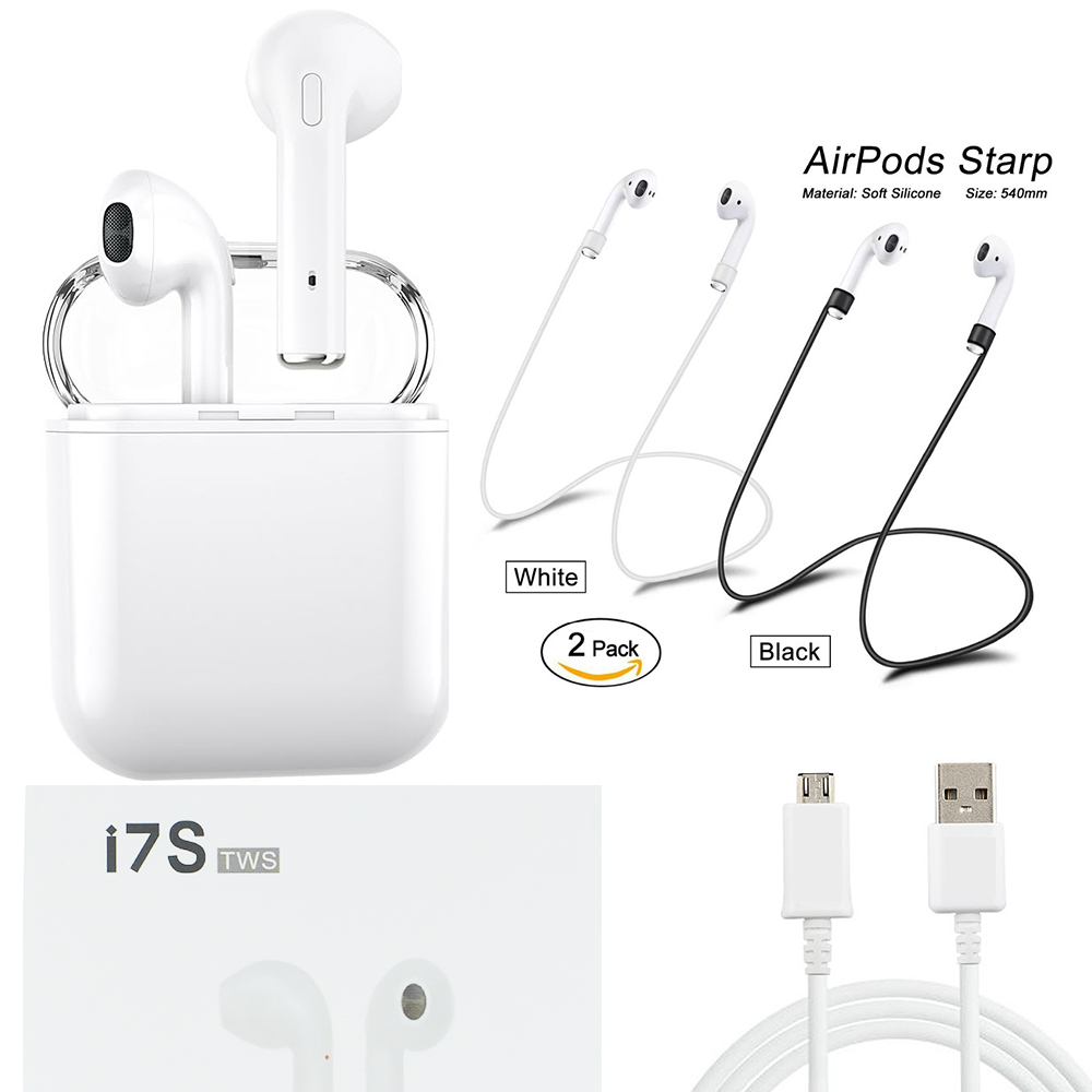 Luli for apple airpro i7s TWS Twins Wireless Earphone Mini Bluetooth earpods hbq f10 Earbuds Stereo car charging box Earbuds