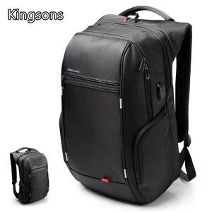 """Image 2 - Kingsons mochila para ordenador portátil de 15 """", 2020"""",Notebook 13 """",14"""", bolsa de ordenador de 15,6 """", negocios, trabajadores de la Oficina, envío gratis, 15,4"""