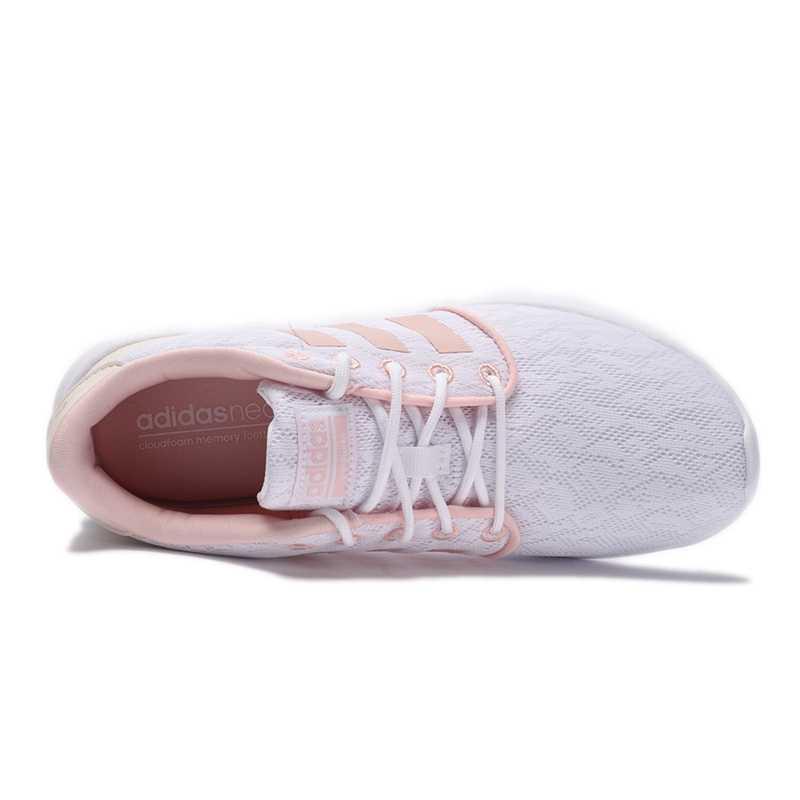 Original New Arrival Adidas NEO Label CF QT RACER W Women's Skateboarding Shoes Sneakers