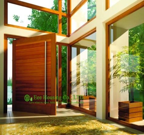 Pivot Door System, Pivoting Door For Villas, Pivot Entrance Doors With Long Handle
