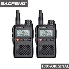 2pcs Baofeng UV 3R 워키 토키 UV3R 미니 Woki Toki 햄 라디오 Comunicador CB 라디오 방송국 HF 송수신기 UV 3R 워키 토키