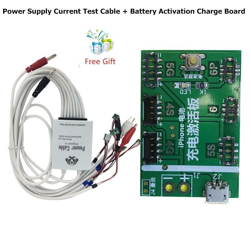 bilder für ALANGDUO Professionelle Versorgungsstrom Test Kabel Batterie Aktivierung Ladebord für iPhone 6 6 S 6 Plus 5 S 5 4 S 4 Freies Geschenk