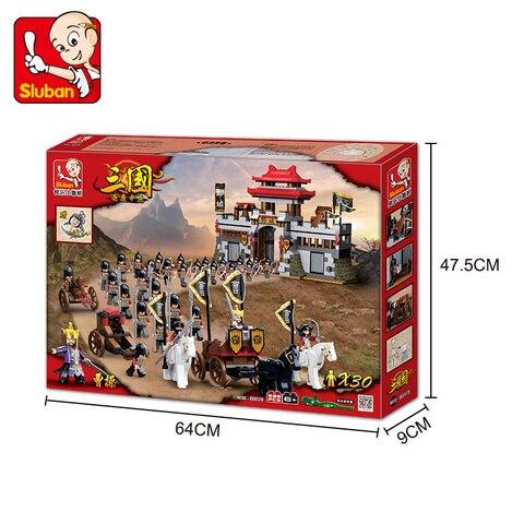 Model building kits compatible with loge city castle 3D blocks Educational three kingdoms toys hobbies for children Multan