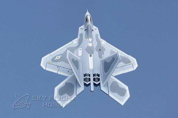 スカイ飛行の趣味ツイン F22 ダブル 70 ミリメートル EDF EPS F 22 ラプター RC EDF ジェット航空機  グループ上の おもちゃ & ホビー からの ラジコン 飛行機 の中 1