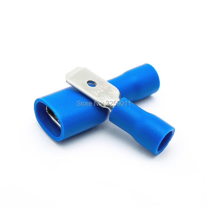 Fully Insulated ring terminal.Electrical audio speaker crimp.Wire connector.