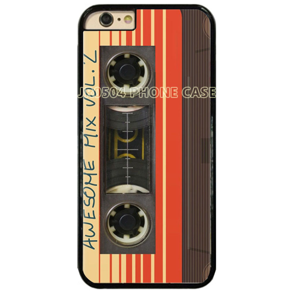 JR0504 Guardians of the Galaxy Awsome Mix Vol 2 PC+TPU Edge Case For iphone X 5s 6s 7 8 Plus Samsung s5 s6 s7 s8 s9 J5 2016 #131