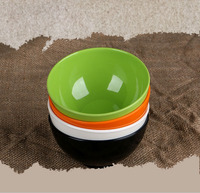 4 Pieces Set High Grade Melamine Bowls Lovely Candy Color Popular Brands Rice Bowl Fashion Tableware