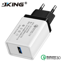 Quick Charge 3.0 2.0 USB EU Plug Charger Travel Wall 5V 3.5A Fast Charge Adapter