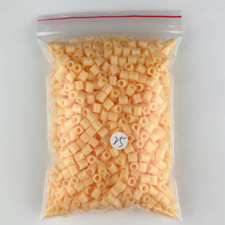 1000 pcs/Bag 5mm Hama Beads/ PUPUKOU Iron Beads KID FUN.Diy Intelligence Educational Toys Puzzles 18