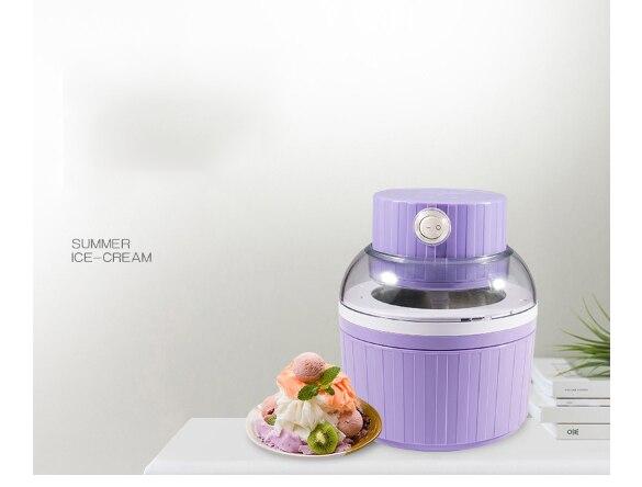 ice cream machine Small automatic DIY frozen fruit milkshaker one click operation 650ML Handlless easy clean Homemade