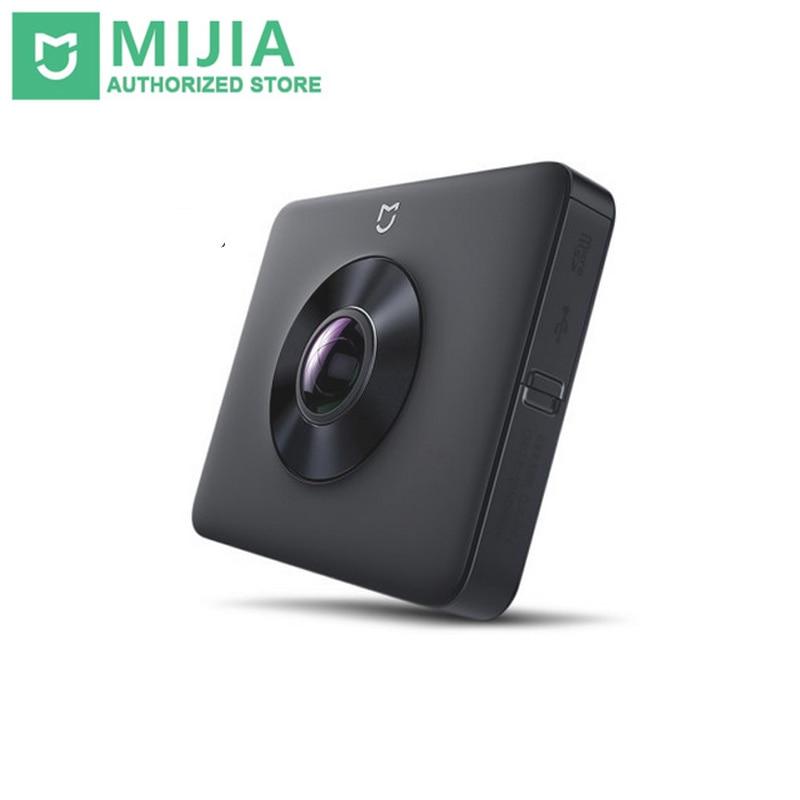 Оригинальный Xiao mi jia 360 23.88MP сенсор 3,5 к Запись видео 6 Axis Anti shake английское приложение mi Sphere VR