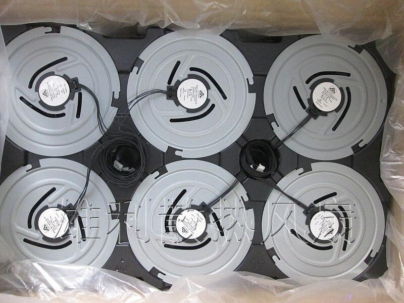 New Original Nidec VDE60335-1 24V 1.30A Protechnic circular cooling fan new original nidec 12cm ta450dc a34602