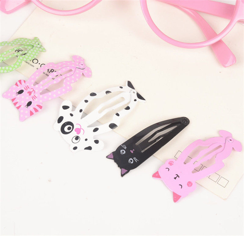 HTB1sJLqQXXXXXakXVXXq6xXFXXXF Cute 6-Pieces Dog Cat Bunny Hair Snap Clip Set For Women/Children