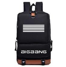 KPOP bigbang nouvel album fait en nylon De Mode Cartable Sac À Dos Cartable sac