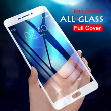 M6s For Meizu M5 Note Screen Protective FIlm For Meizu M5 M6 Note M3 Mini M5s Tempered Glass Full cover Meilan Note6 M6s case(China)