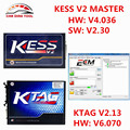 2017 Best Match KESS V2 V2.30 + K-TAG V2.13 Master KTAG V6.070 OBDII Manager Tuning Kit No Tokens Limited ECU Chip Programmer