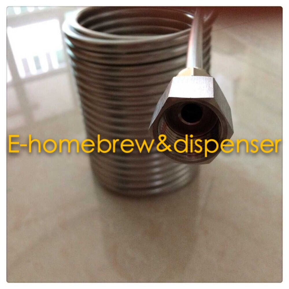 50' Stainless Steel Coil 5' Diameter double layer beer coil for your - Kitchen, Dining and Bar - Photo 4