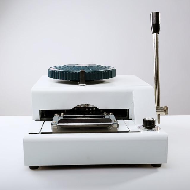 72 character code embosser embossing machine pvc id credit card printing machine - Credit Card Printer