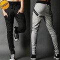 Fashion Men Indoor Casual Elastic Drawstring Track Joggers Fitness  Teenager men Hip Hop Harem Pants Slim Pantalon Homme
