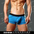 Dominik Men Sexy Low Rise Briefs Blue Cotton Underwear Thong M/L/XL/2XL/3XL 2083