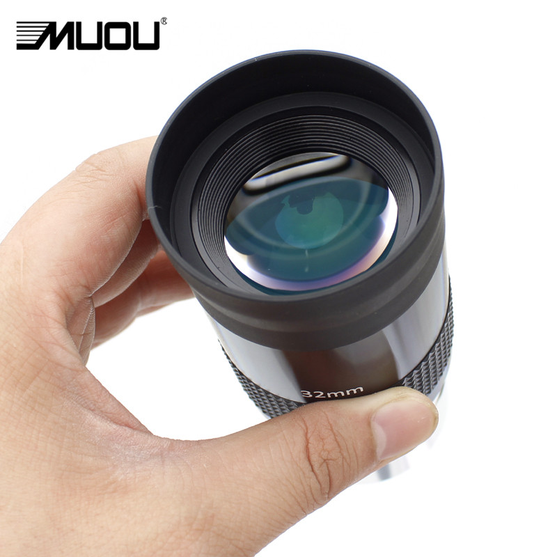 MUOU 2 Inches Eyepiece 26mm 32mm 40mm Telescope Binoculars Telescopes Astronomic Monocular Full HD Multi Coated Metal
