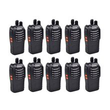 10PCS Baofeng BF 888S Walkie Talkie 5W Handheld Radio Upgrade Version for BF 777s BF 666s