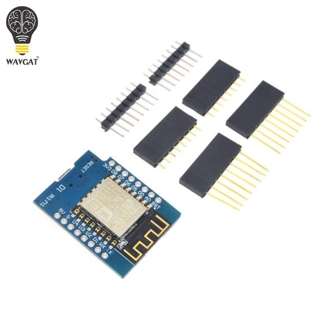 D1 mini - Mini NodeMcu 4M bytes Lua WIFI Internet of Things development board based ESP8266 by WAVGAT
