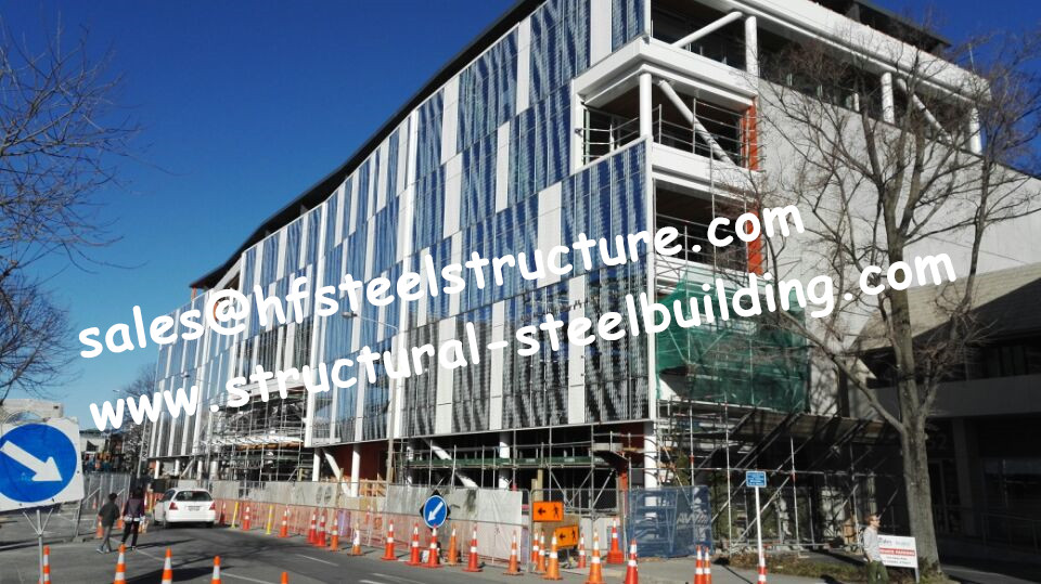 Design Of Low Medium And High Hise Multi-storey Steel Buildings By China Construction Company