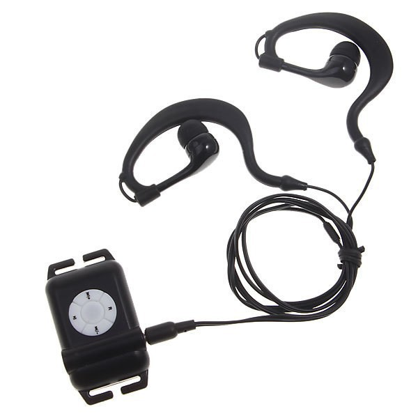 Head Wearing Arm Swimming Water Proof MP 3 Flac 4GB IPX8 Headphones Waterproof Mp3 Player 4 G For Surf Scuba Diving Earphone