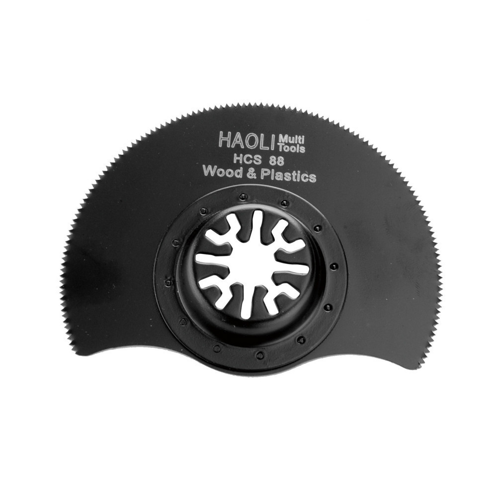 10Pcs/set 88mm HCS Oscillating Multi Tool Saw Blades For Plastic Wood Cutting Woodworking Cutter For Power Tools
