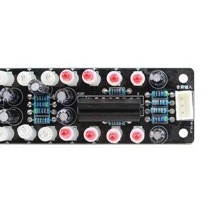 Image 5 - Indicador de espectro de Audio y música LED, doble 10, Color azul + rojo, pantalla de ritmo, indicador de nivel de luz, tablero terminado DIY