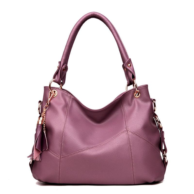 2018 Luxury New Fashion Large Women Leather Shoulder Crossbody Tote Bags Female Top-Handle Purse Women Handbags Bolsa Feminina