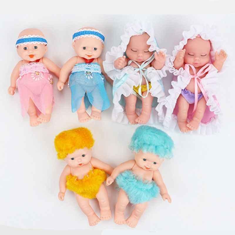 Новая детская кукла-сюрприз Reborn Реалистичная Кукла Карапуз мини Bebe Reborn Девочка детская игрушка