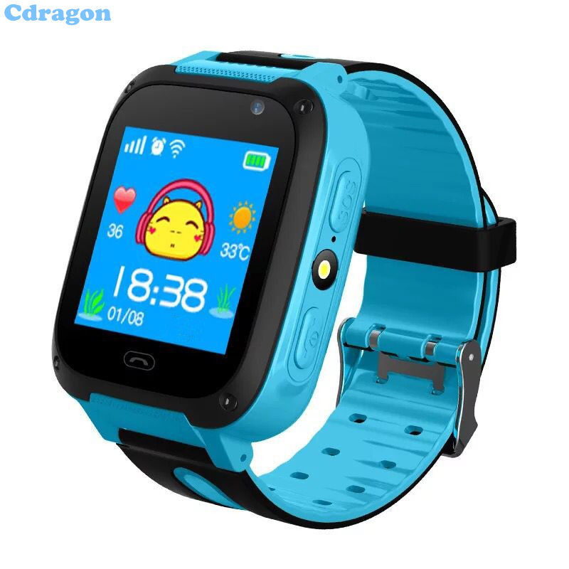 Cdragon Tracker Smart Watch SOS Help With Flashlight Camera For Kids Anti-Lost