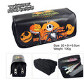 Nightmare Before Christmas Cosplay Pencil Pen Case Wallet  Bag Cosmetic Make Up Bag Storage Pouch