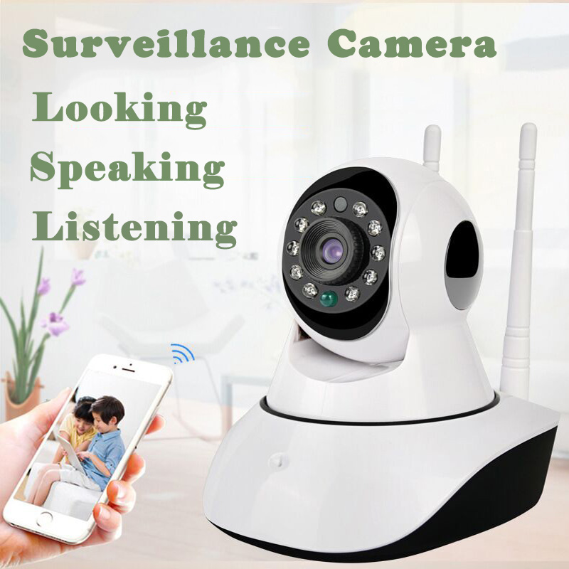 720P HD Surveillance IP Camera CCTV Wireless WIFI SD Card Two Way Intercome Night Vision Home Security Baby Monitor China