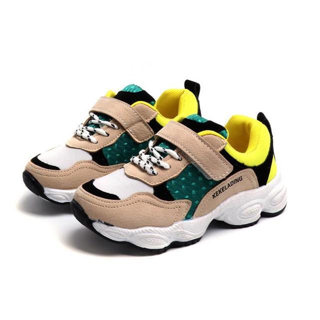 cb0f50a18 Zapatillas de deporte para niños HaoChengJiaDe zapatos casuales de malla  para bebés y niñas zapatos de