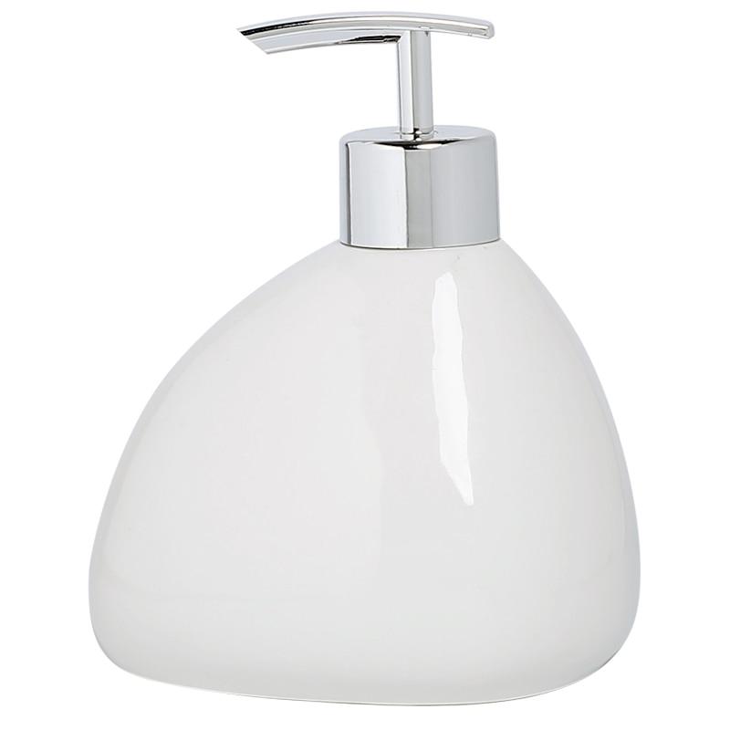 Ceramic pressed empty bottles  home furnishing Hotel shampoo shower gel hand washing liquid conditioner bottle