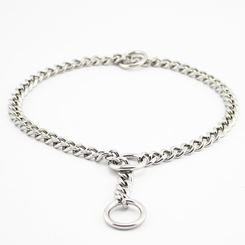 PETCARE Three rings flat 304 Stainless steel Dog Chain