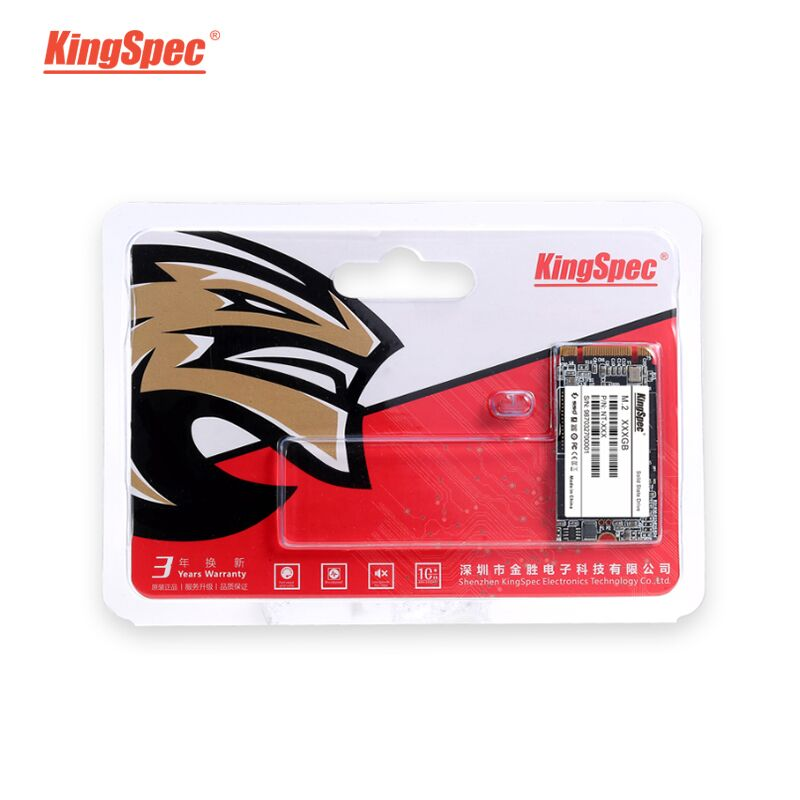 KingSpec <font><b>SSD</b></font> m2 m.2 2242 <font><b>SSD</b></font> <font><b>120</b></font> <font><b>GB</b></font> 128GB 240 <font><b>GB</b></font> 256GB 500GB 512 <font><b>GB</b></font> 1TB Disco Duro <font><b>SSD</b></font> 256 Interno <font><b>Sata</b></font> NGFF For laptop image