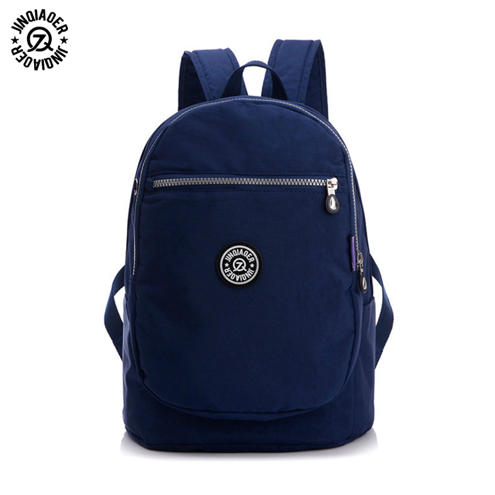 Luggage & Bags Jinqiaoer Women Backpack Campus Multi-color Back Pack High Quality School Backpacks Less Is More School Bags For Teenagers B102