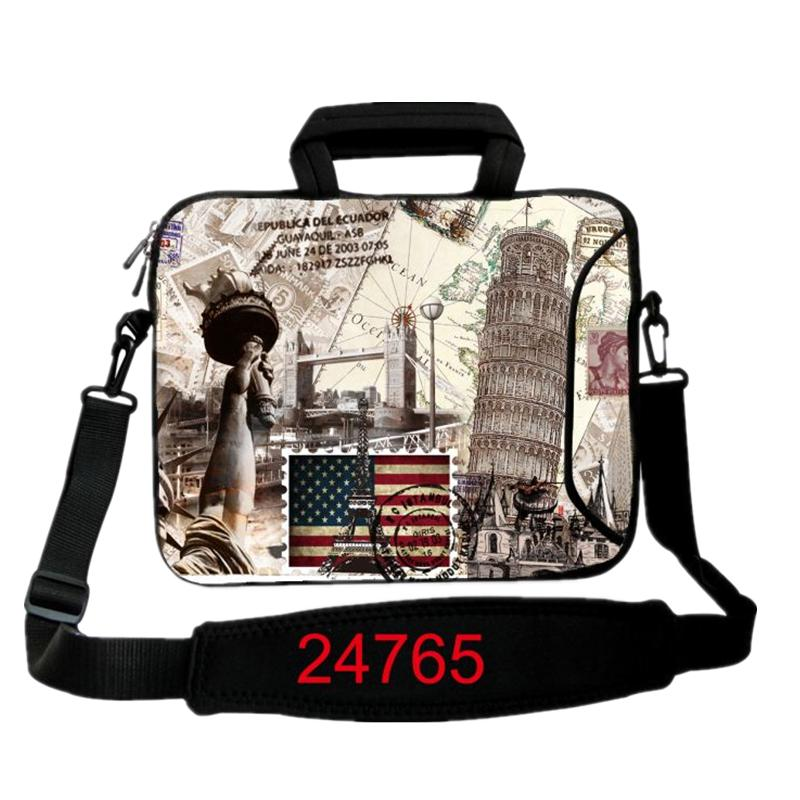 9.7 11.6 13 14.4 15.4 17.4 inch castle Laptop Shoulder Bag Cases Notebook Messenger case Protector For ASUS Acer Sony Toshiba PC