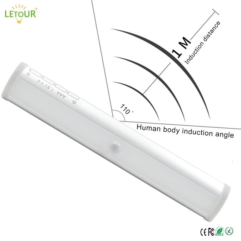 Bewegingssensorlicht Draadloze wandlamp 5W LED-nachtlampje 2 meter - Nachtlampje - Foto 5