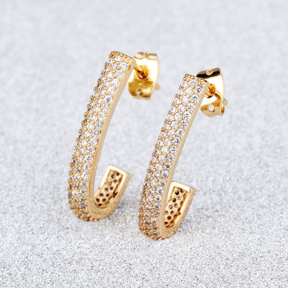 J Type Micro Stud Earrings Ms White Earring Europe And The United States Jewelry Whole Ke668 In From Accessories On