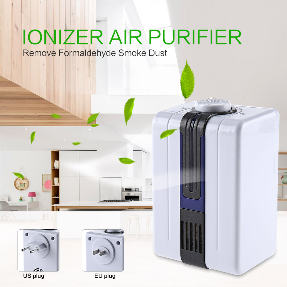 Home Ionizer Purifiers Ozonator Air Cleaner Oxygen Purify Kill Bacteria Virus Clear Peculiar Smell Smoke 30pcs lot home ionizer purifiers ozonator air cleaner oxygen purify kill bacteria virus clear peculiar smell smoke