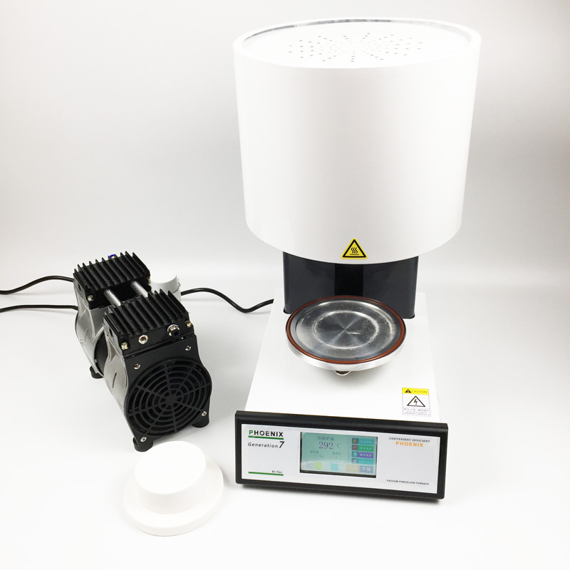 Automatico programmabile Dental forno per ceramica dentale apparecchiature di laboratorio vuoto ciotola di ceramica forno con touch screen